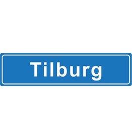 Tilburg pegatina nombre de ciudad