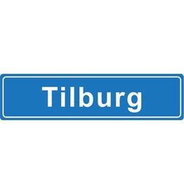 Tilburg plaatsnaam sticker