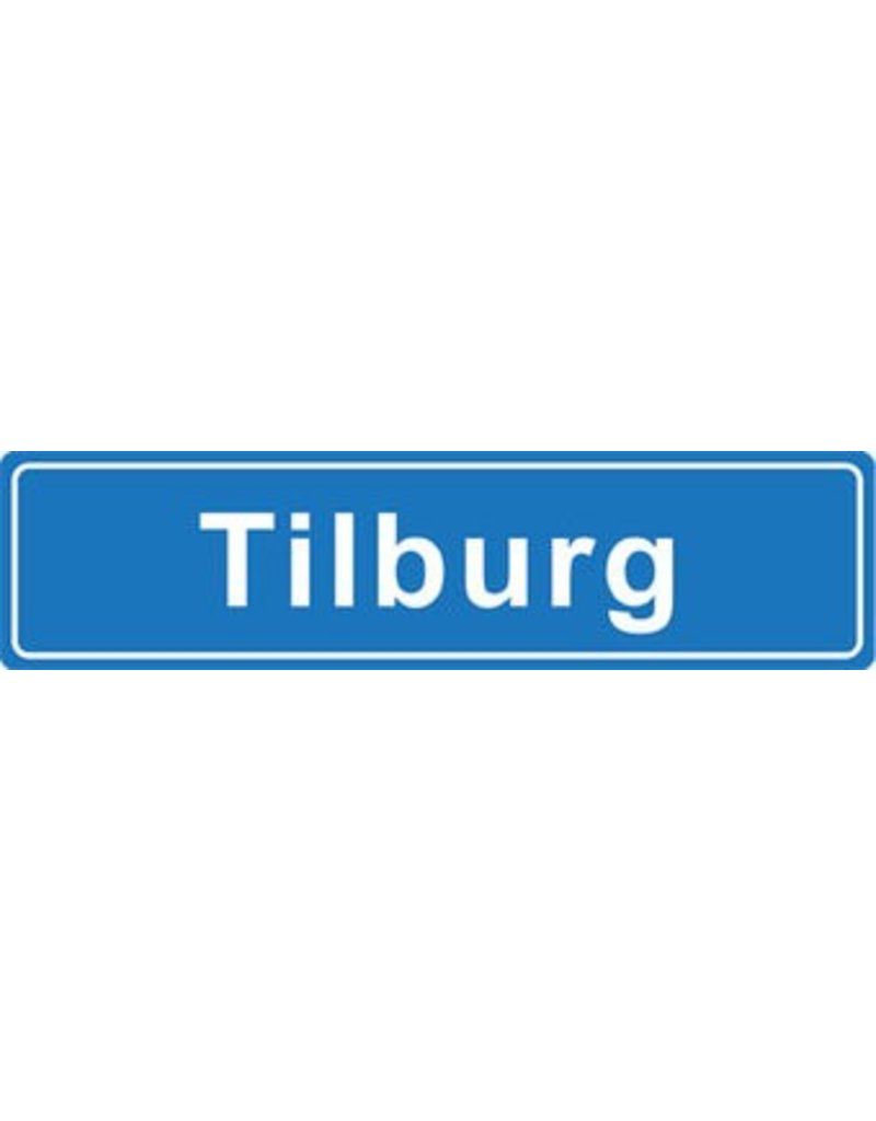 Tilburg place name sticker