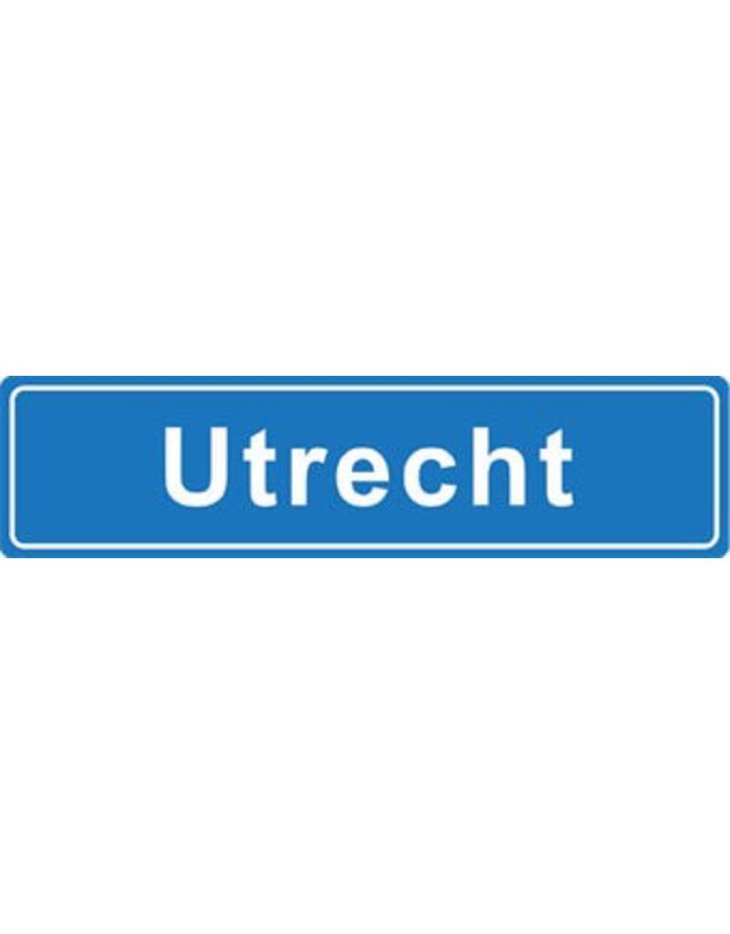 Utrecht pegatina nombre de ciudad