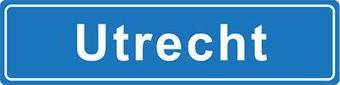 Utrecht place name sticker
