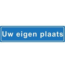Uw eigen plaats plaatsnaam sticker