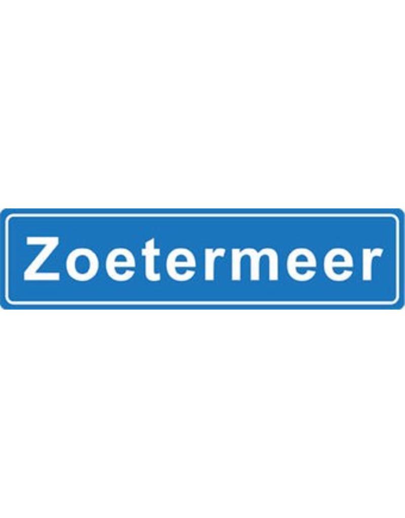 Zoetermeer plaatsnaam sticker
