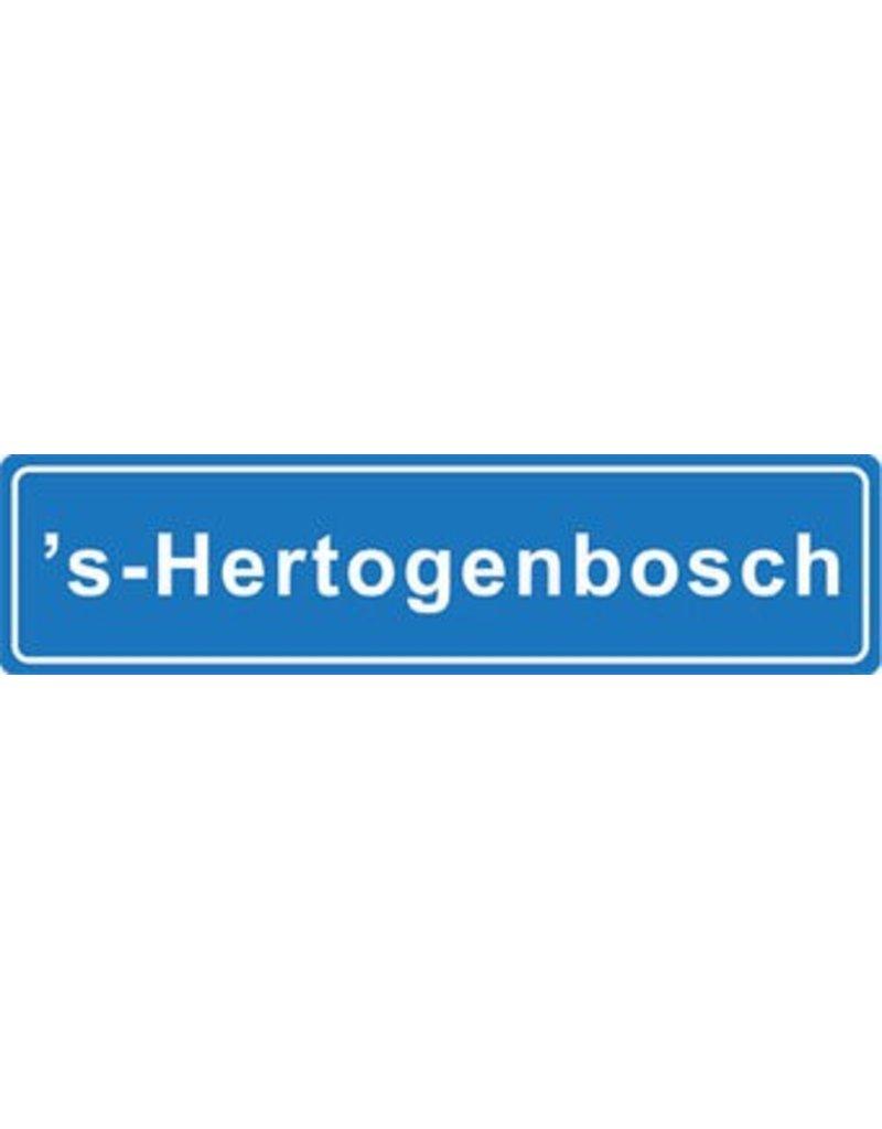 S - Hertogenbosch plaatsnaam sticker