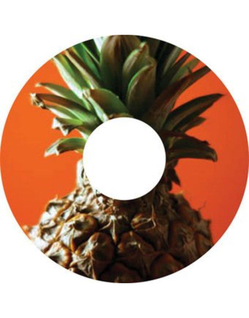 Speichenschutz Sticker Ananas