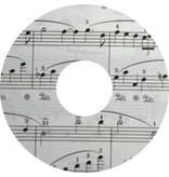 Spoke protector sticker Music Paper