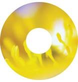 Autocollant protège-rayon fleur jaune autocollant