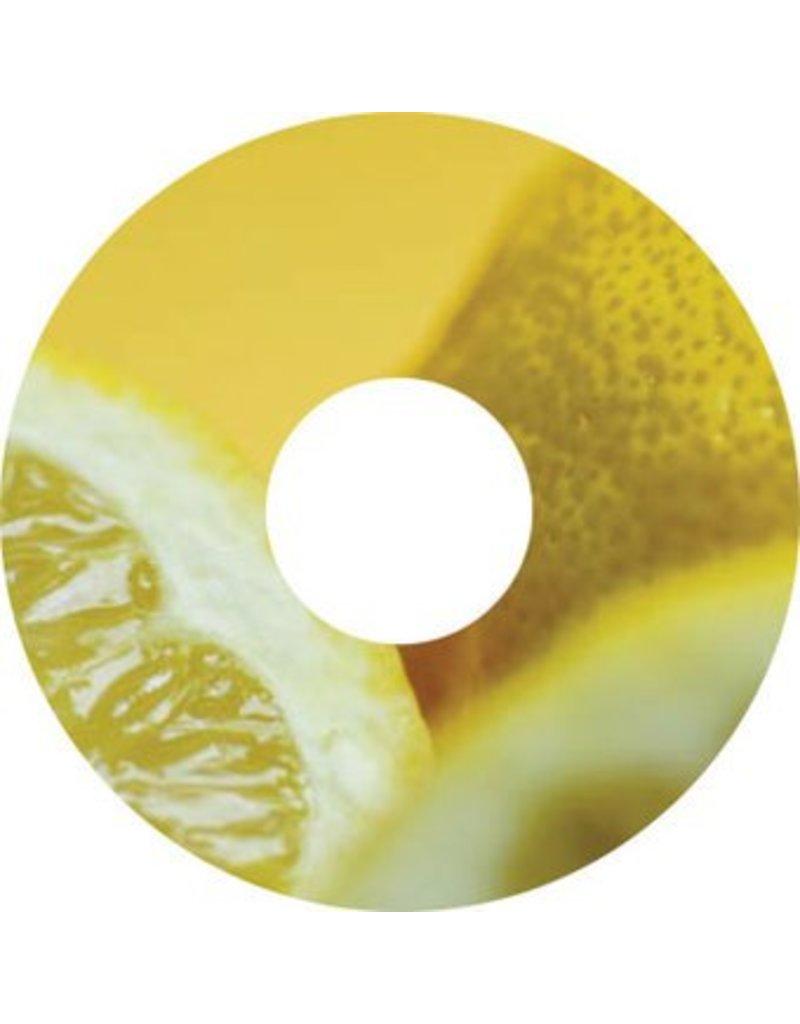 Pegatina protector de radios limón