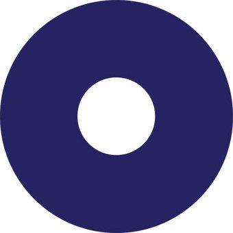 Autocollant protège-rayon Bleue fonce autocollant