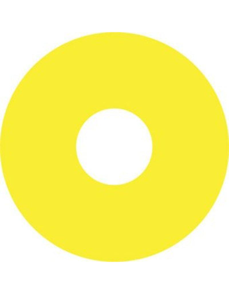 Autocollant protège-rayon jaune autocollant