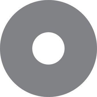 Autocollant protège-rayon gris autocollant