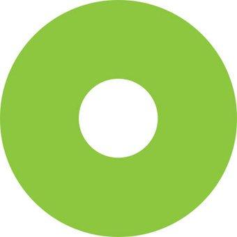 Spoke protector sticker Green