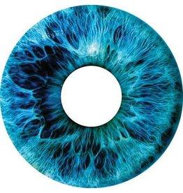 Spaakbeschermer sticker Iris blauw
