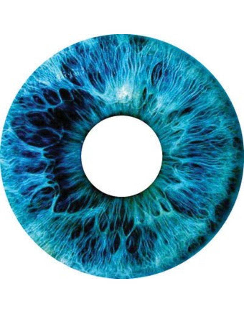 Autocollant protège-rayon œil bleu autocollant
