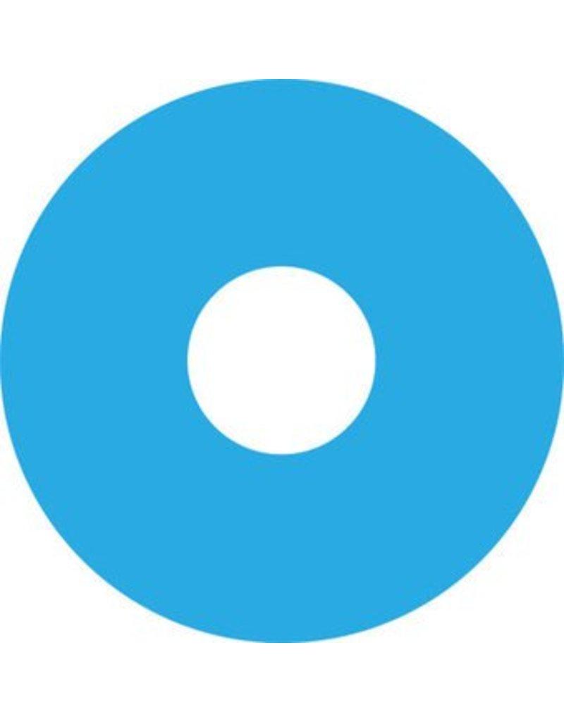 Autocollant protège-rayon bleu claire autocollant