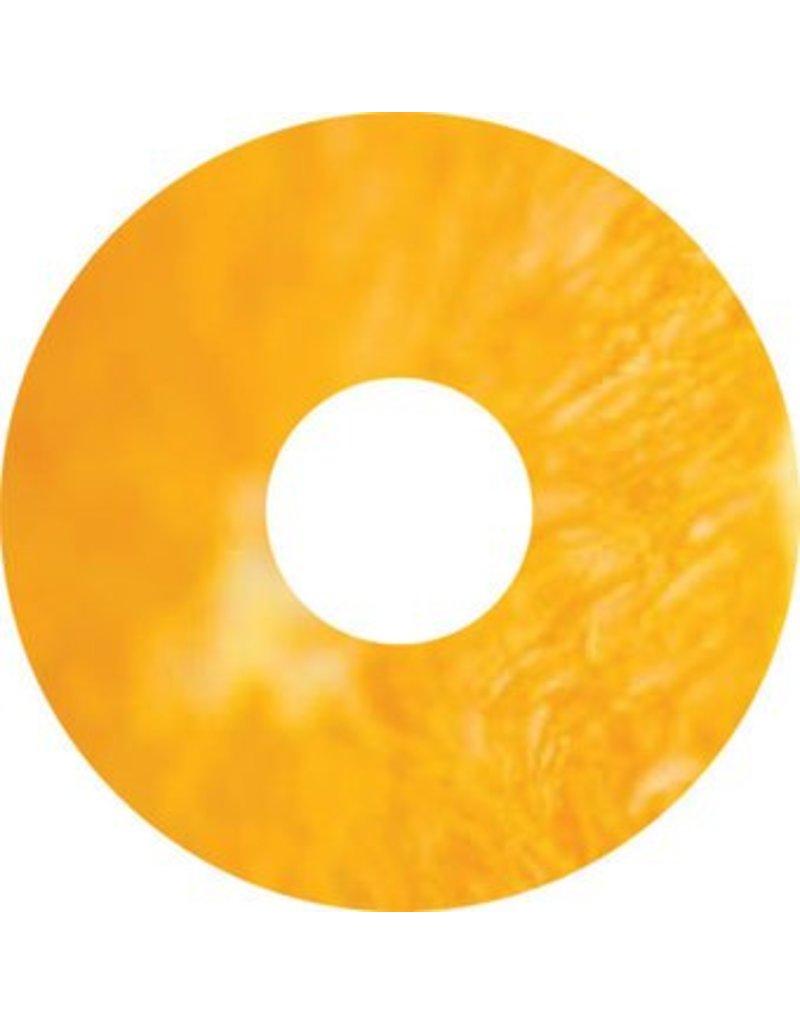 Pegatina protector de radios mandarina