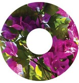 Pegatina protector de radios violeta flor