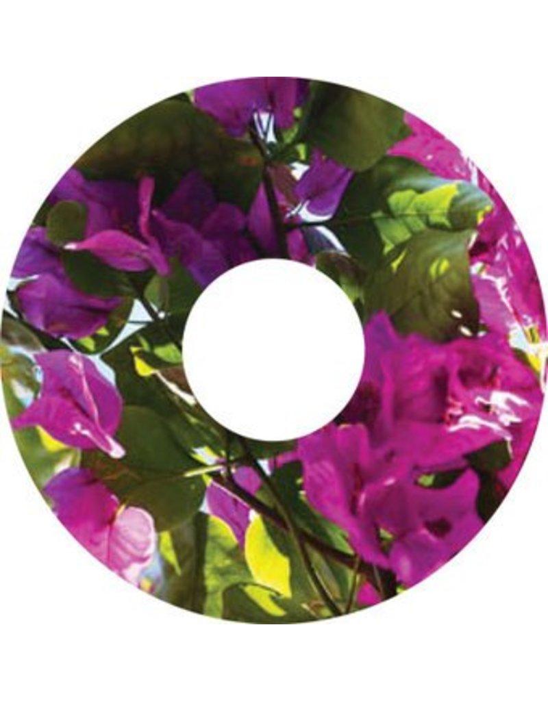 Spaakbeschermer sticker Paarse bloem