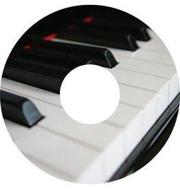 Speichenschutz Sticker Klavier