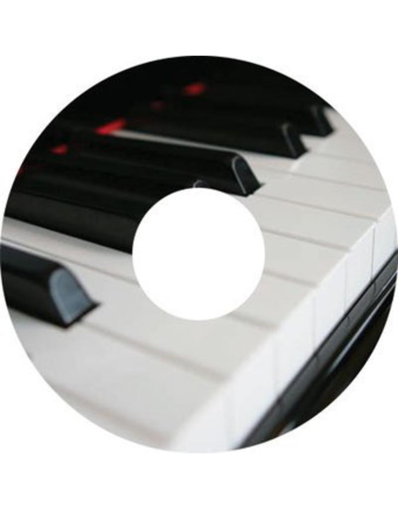 Spoke protector sticker Piano