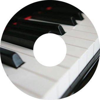 Spaakbeschermer sticker Piano