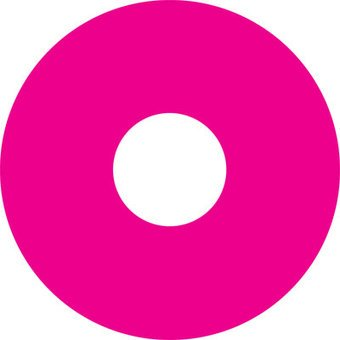 Pegatina protector de radios rosa