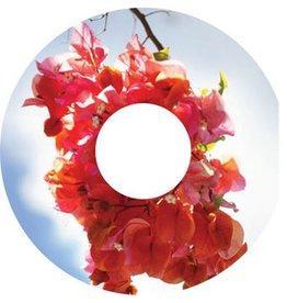 Autocollant protège-rayon fleur rose autocollant