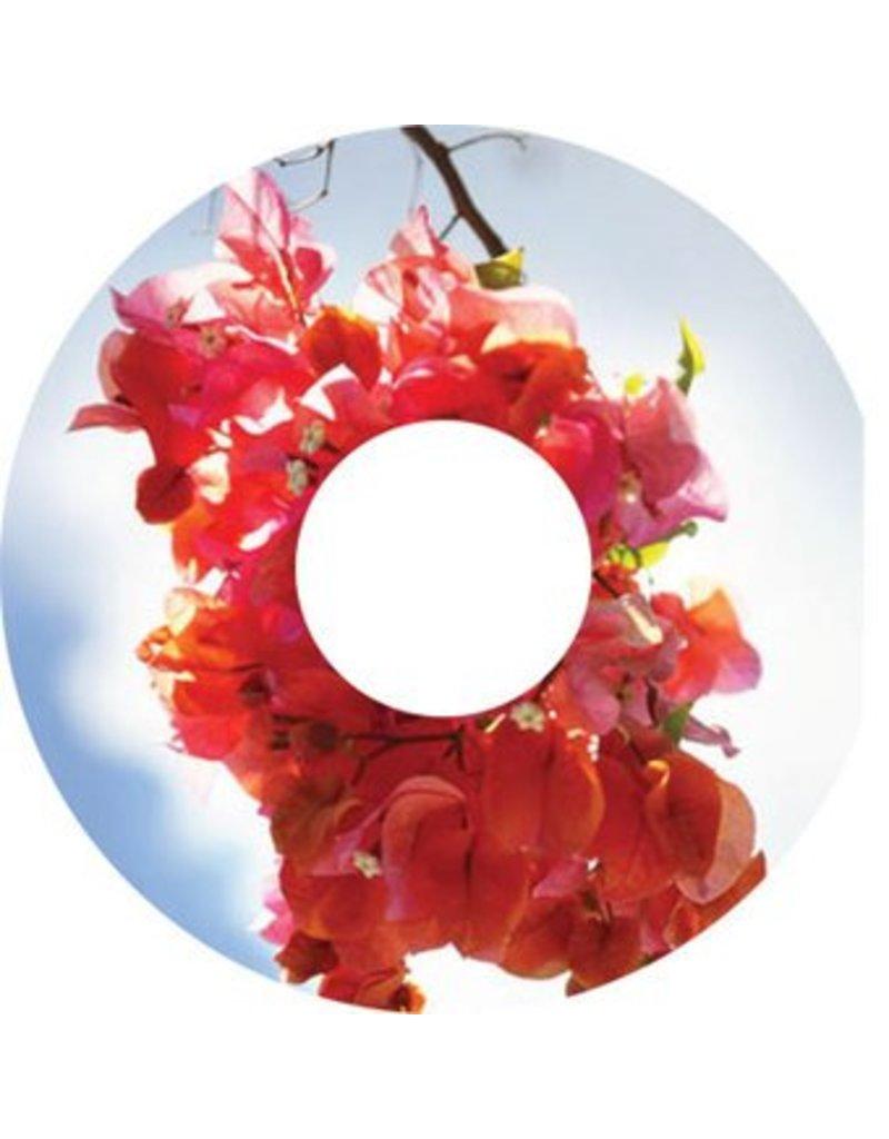 Spoke protector sticker Pink Flower