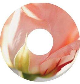 Spaakbeschermer sticker Roze Roos