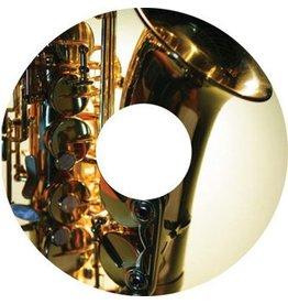 Spaakbeschermer sticker Saxofoon