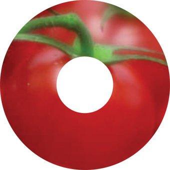 Spoke protector sticker Tomato
