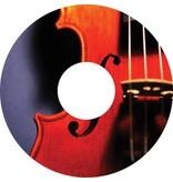 Speichenschutz Sticker Violine
