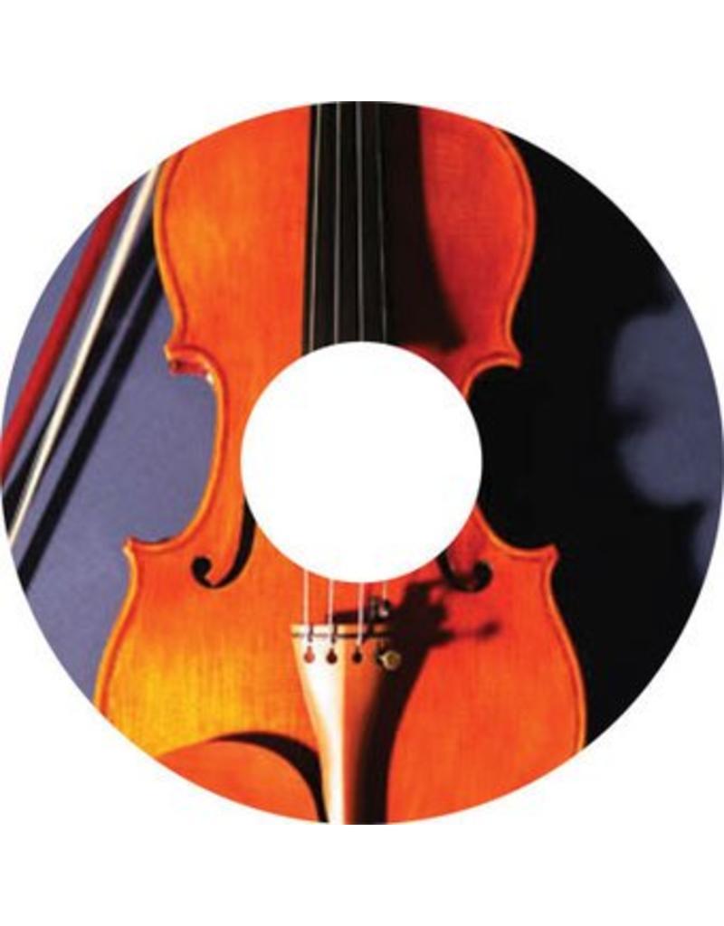 Pegatina protector de radios violín 2