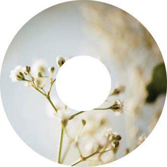 Spoke protector sticker White Flower
