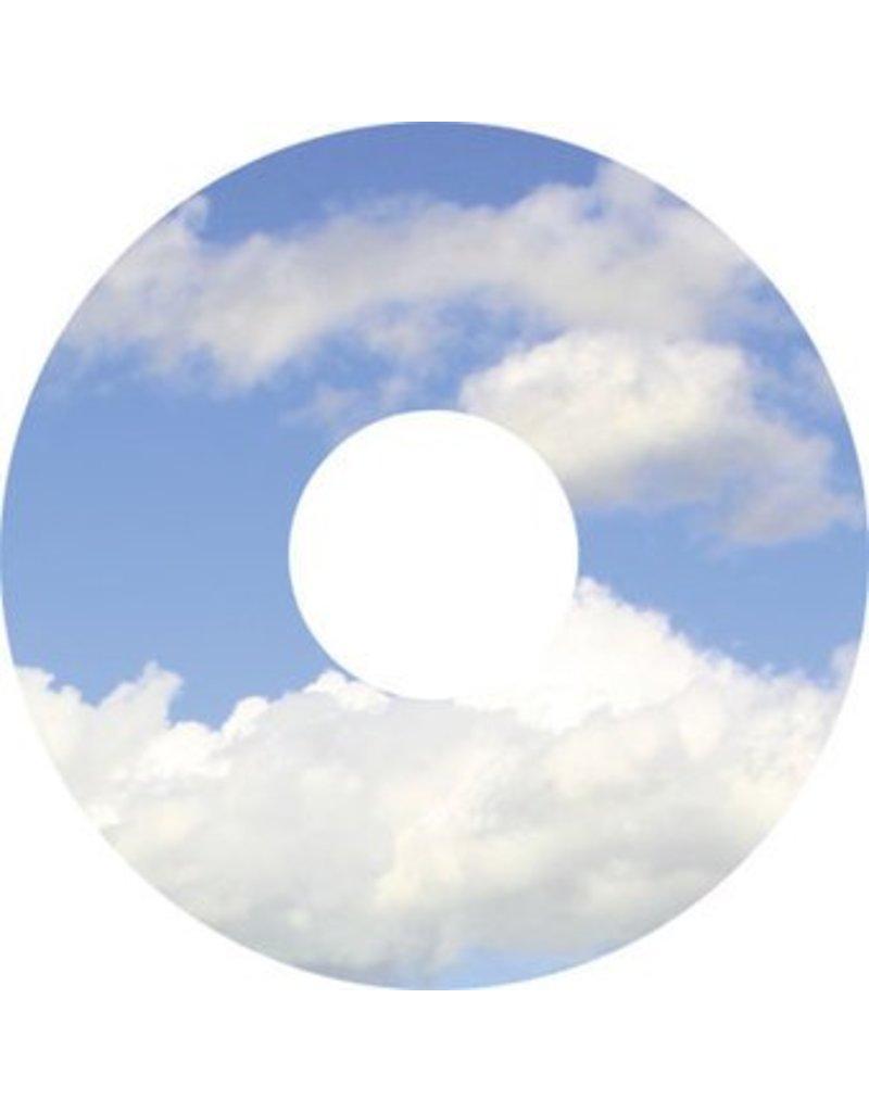 Spaakbeschermer sticker wolken