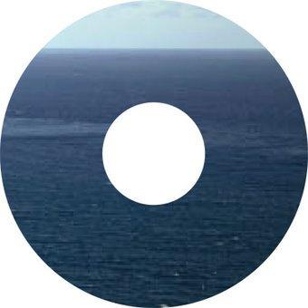 Speichenschutz Sticker Ozean