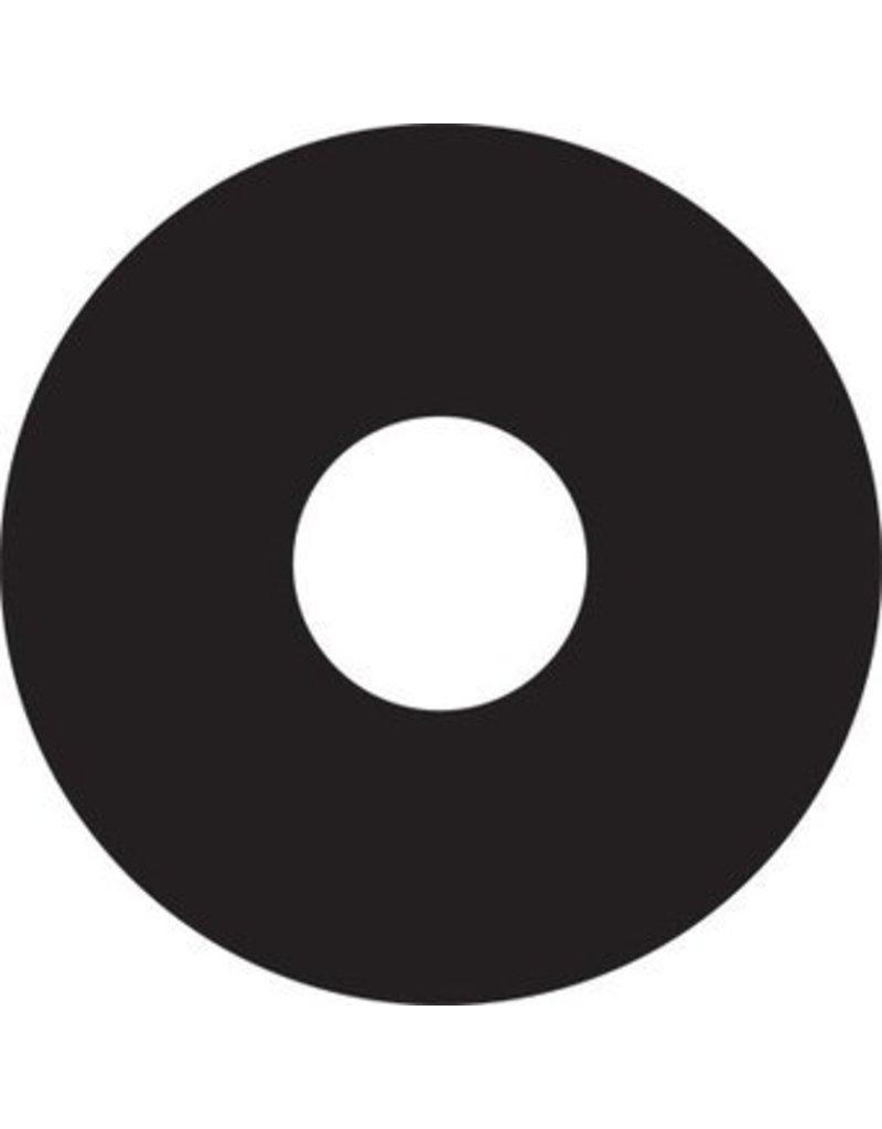 Spaakbeschermer sticker zwart