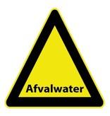 Autocollant eau usée