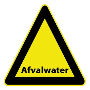 Abwasser Sticker