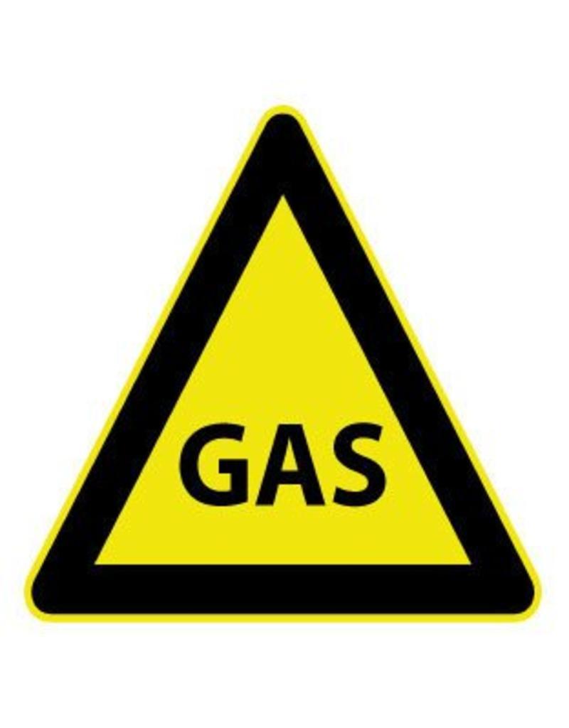 Pegatina de gas