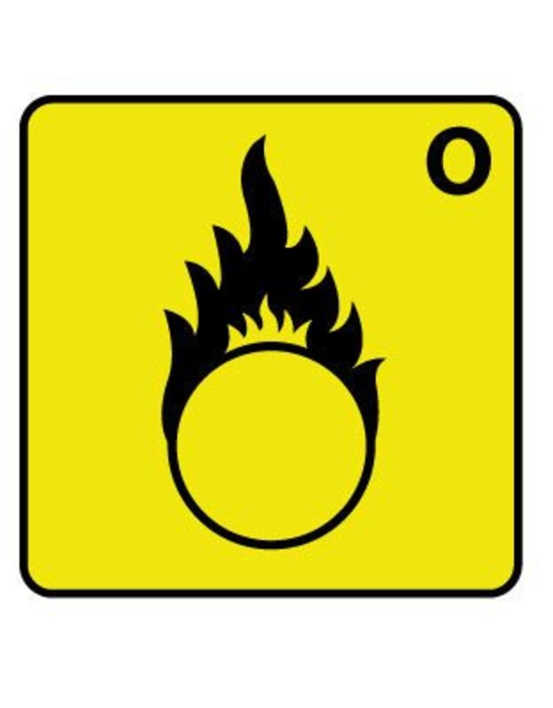 Flammable substances Sticker