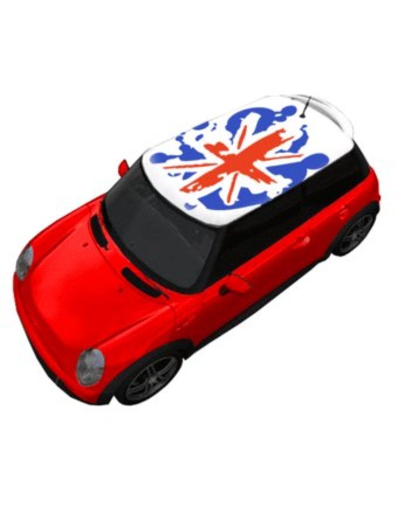 Roof Sticker Flag United Kingdom Graffiti