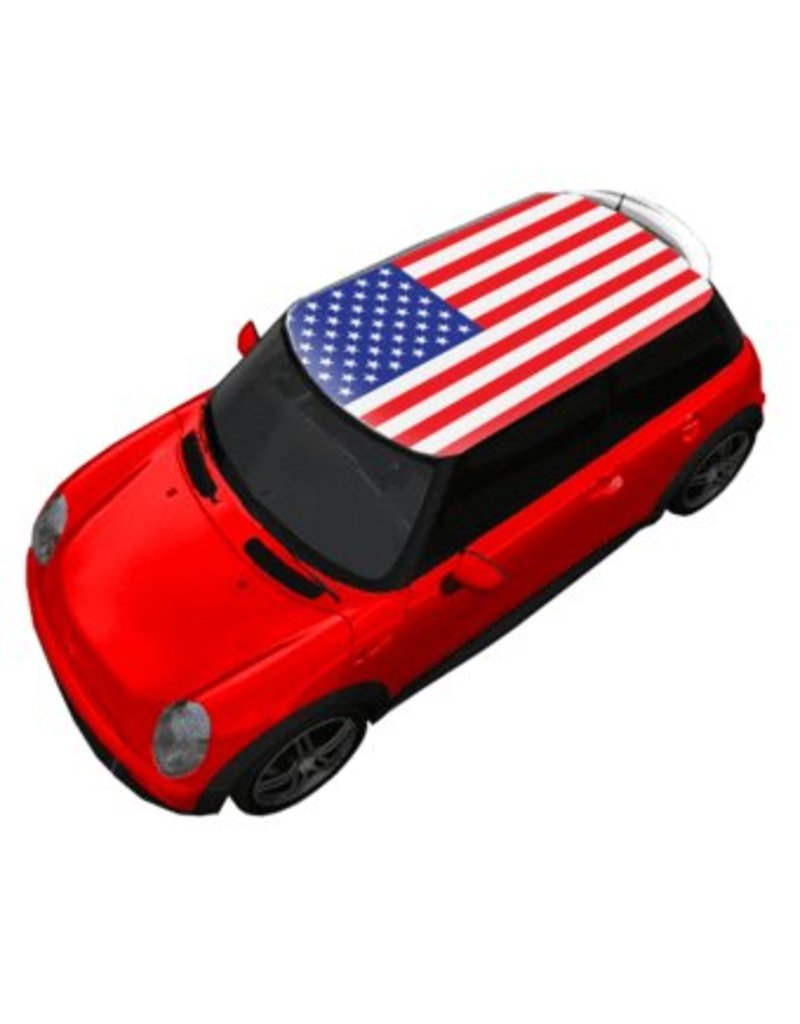 Roof Sticker Flag USA