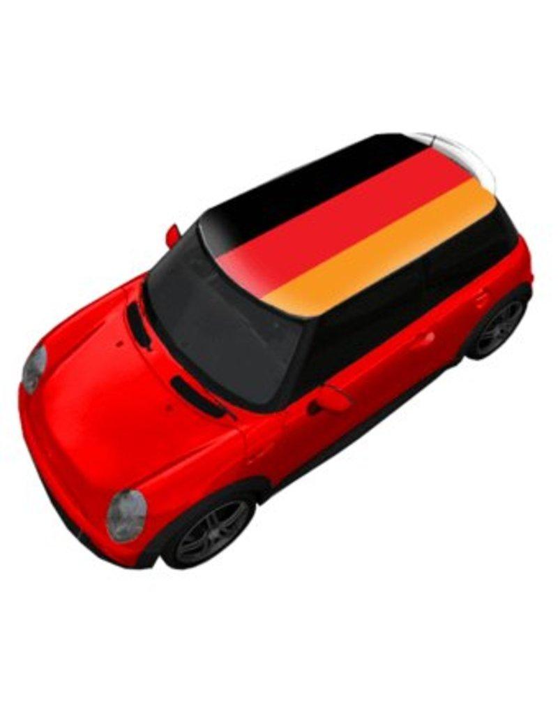 Dachsticker Deutschland-Flagge