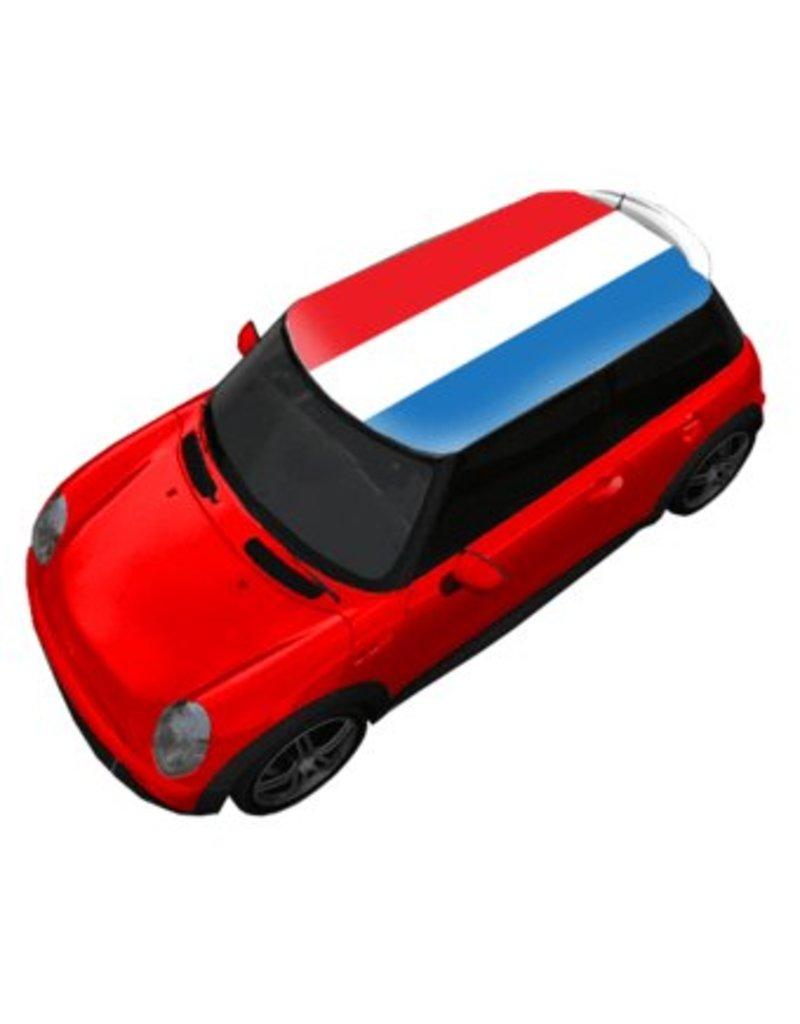Dachsticker Niederländische Flagge