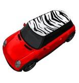 Roof sticker Zebra