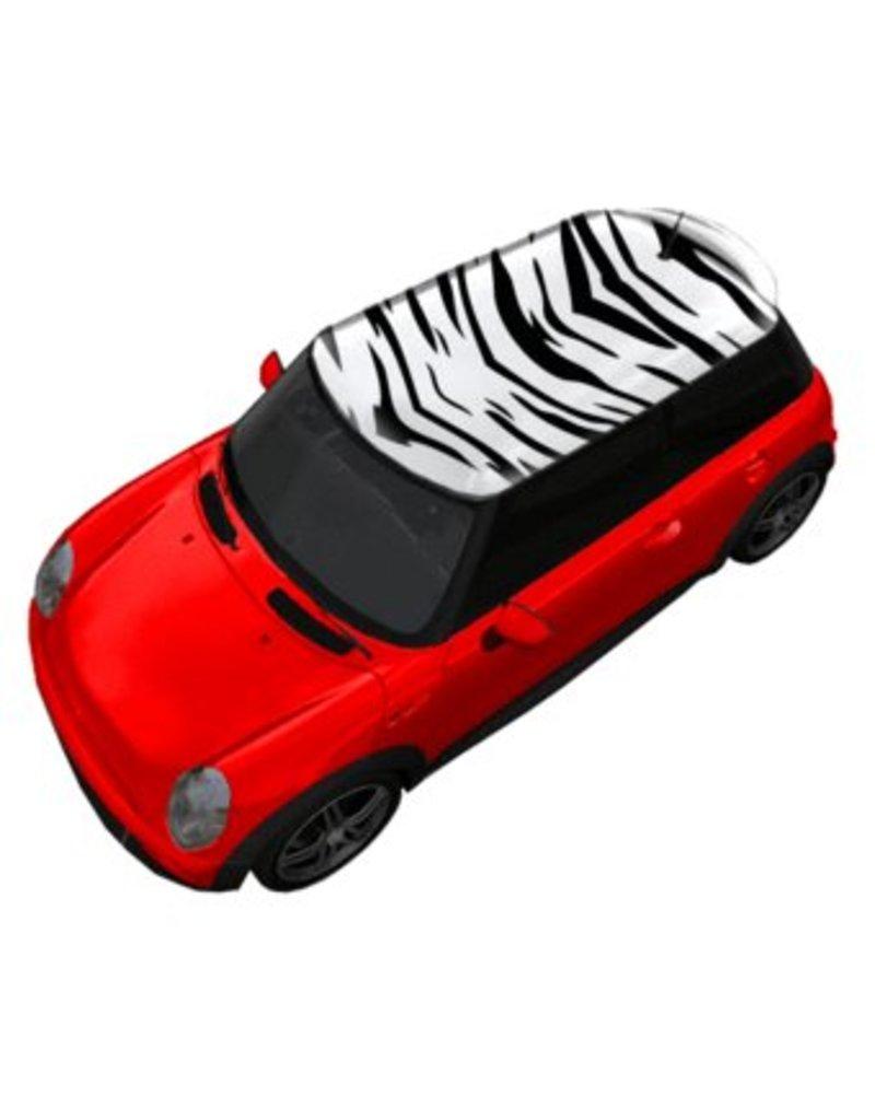 Dak sticker Zebra
