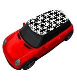 Autocollant toit petit puzzle