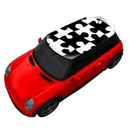Autocollant toit grand puzzle