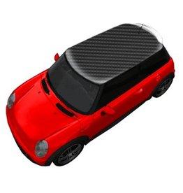 Autocollant toit carbone